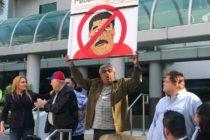 Venezolanos en Miami protestaron contra el «acto ilegítimo» del 10 de enero