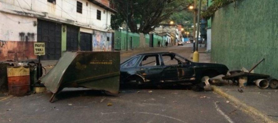 Protestas y cacerolazos se registraron en sectores populares de Caracas
