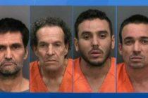 Arrestaron a cuatro hombres por robar cargamento de tequila valorado en $ 500,000 en Florida