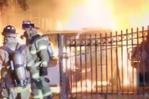 Bajo investigación incendio de vehículos en Miami Garden