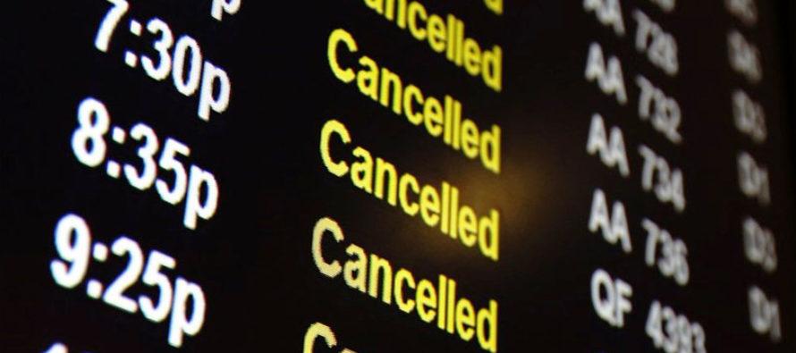 El mal tiempo paralizó el tráfico aéreo en el sur de Florida