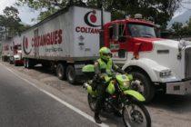 Llegaron a la frontera colombo- venezolana primeros camiones con la ayuda humanitaria enviada por el Gobierno de EE UU