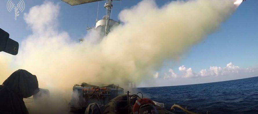 Marina de Israel destruyó 'buque enemigo' en simulacro naval