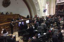 Parlamento venezolanos aprobó este martes el Estatuto de la Transición