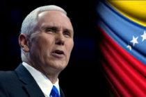 Mike Pence: DEA ahora va tras la narcodictadura de Nicolás Maduro