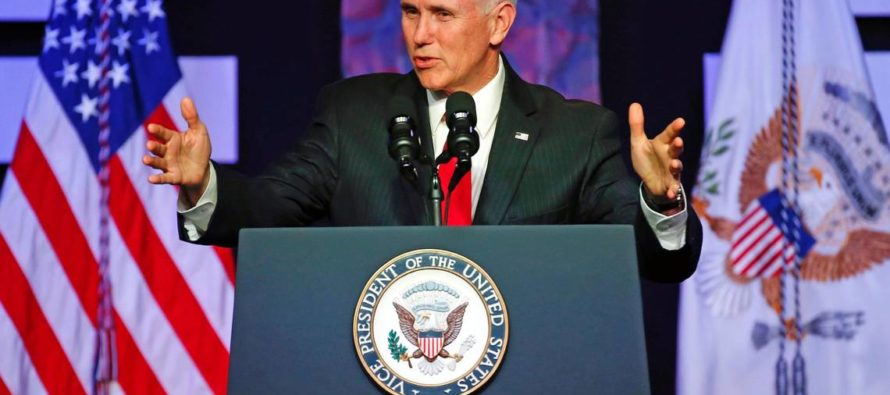 Vicepresidente de EE UU en encuentro con los venezolanos: el momento para el diálogo pasó, ahora es el tiempo de entrar en acción