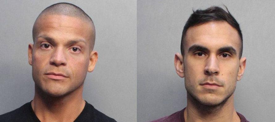 Arrestados dos vendedores de drogas abordando crucero en Miami