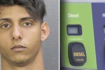Detenido estafador que compraba combustible con tarjetas falsas en Cooper City