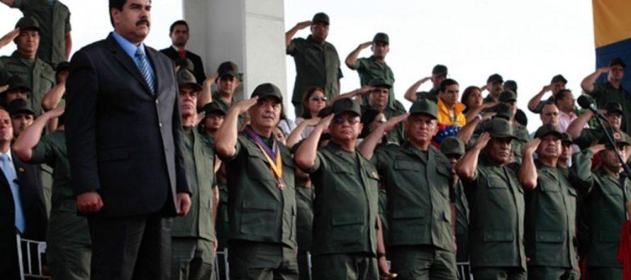Otro general venezolano abandona a Maduro