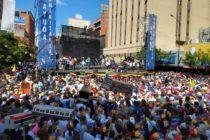 Venezolanos responden a llamado de Guaidó vuelve a llenar las calles del país este Día de la Juventud