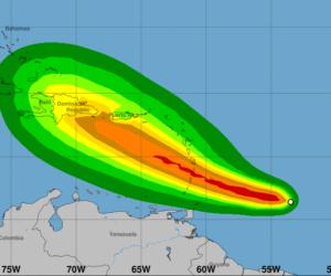 Puerto Rico y República Dominicana en alerta tras posible llegada de Dorian en forma de huracán