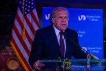 Almagro se reúne en Miami con activistas que buscan un cambio en Cuba