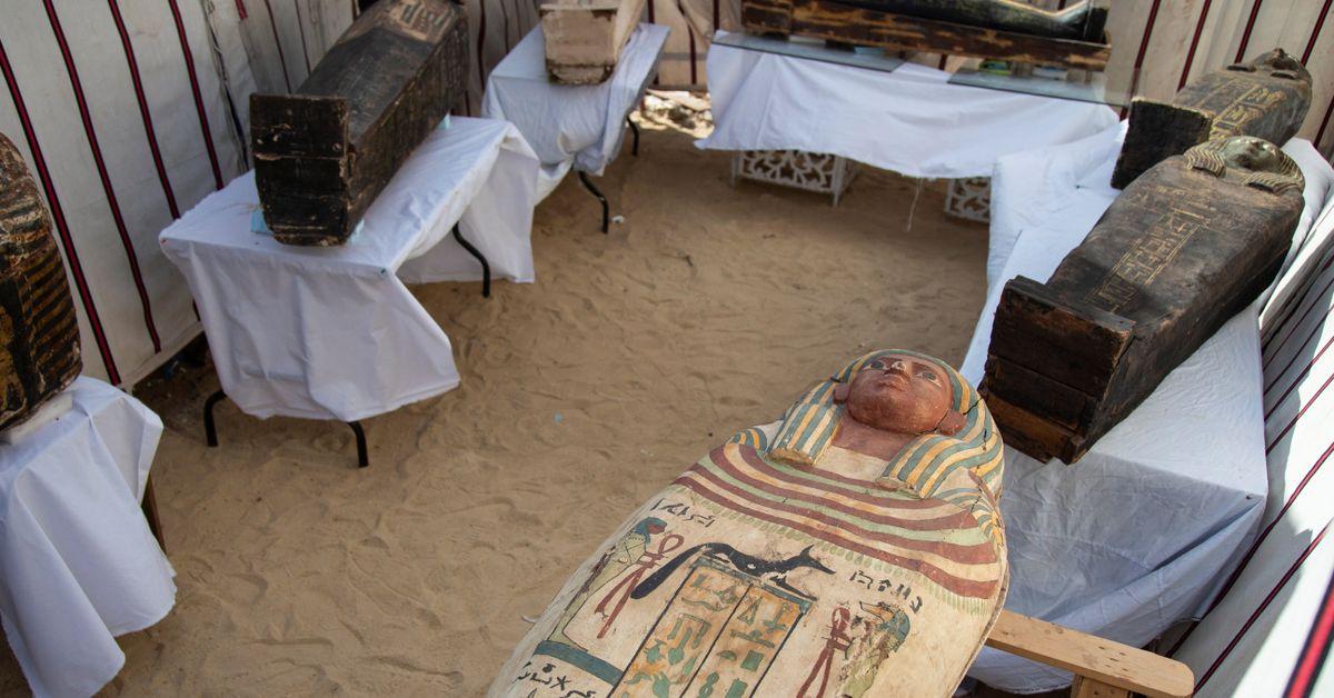 Realizan nuevos descubrimientos sobre el Reino en la necrópolis de Saqqara