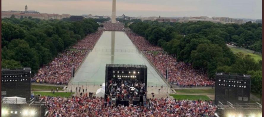 4 de julio: Trump reiteró que «la nación es más fuerte que nunca»