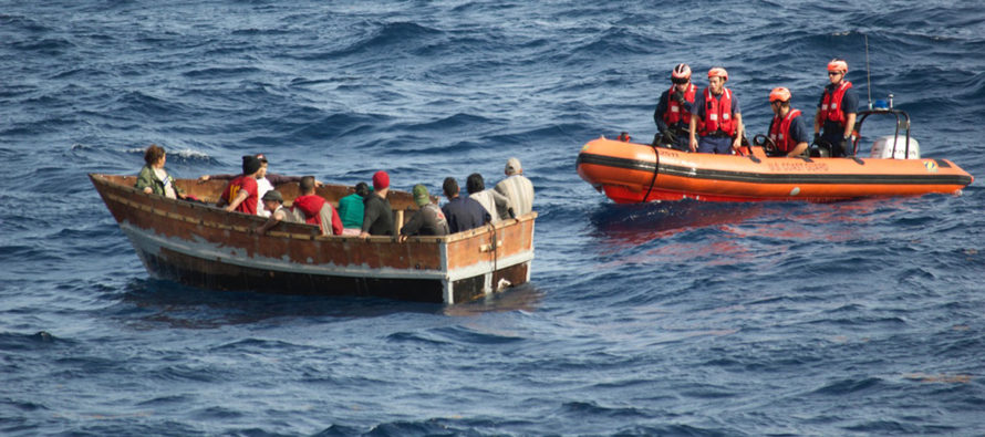 Cubanos siguen escapando de la dictadura por mar para llegar a Florida