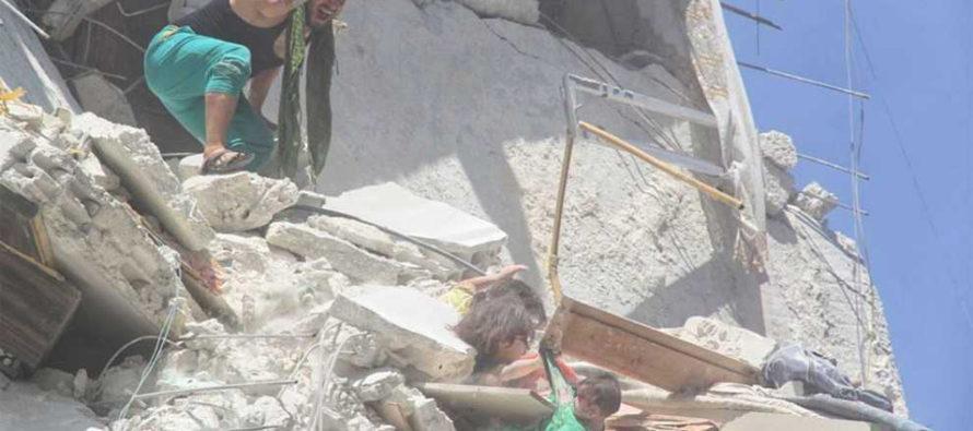 Niña de 5 años muere luego de salvar a su hermanita tras un ataque Sirio