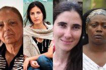 Cuatro cubanas elogiadas por Estados Unidos en su labor por la defensa de los derechos humanos