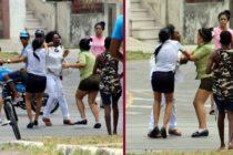 Lider de las Damas de Blanco es detenida violentamente cuando intentaba asistir a ceremonia del Viernes Santo