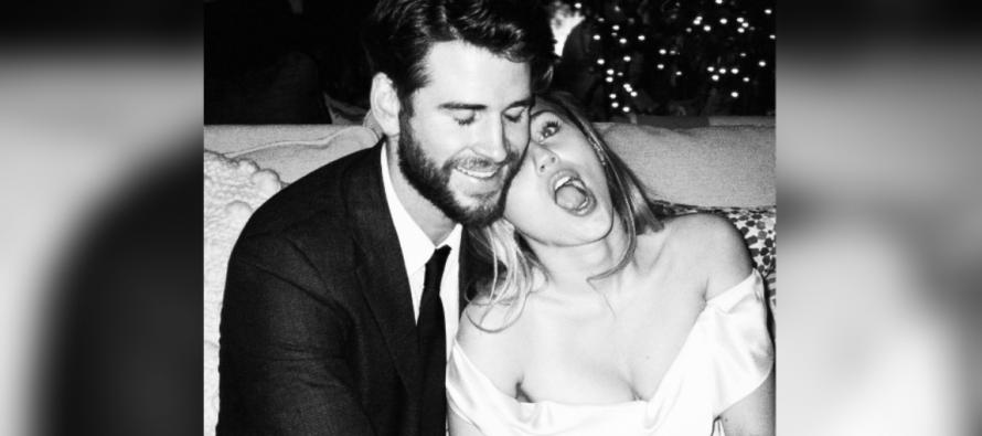 Miley Cyrus publica en su instagram fotos inéditas de su boda