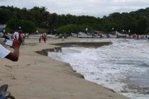 Playa de una localidad turística mexicana se hundió debido a un inusual fenómeno natural (FOTOS)