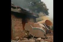 Escombros de un cohete portador chino cayó en una zona residencial (video)