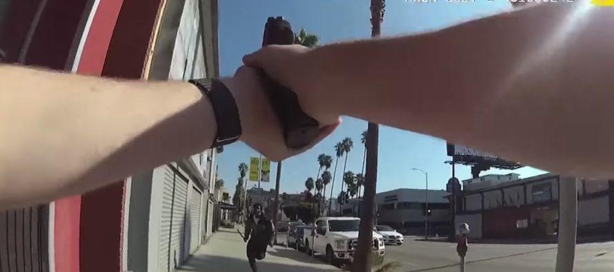 Hombre armado con un machete siembra el terror en Hollywood  (VIDEO)