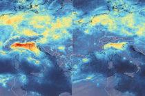 Imágenes desde el espacio muestran rápida disminución de contaminación en Italia a causa de la pandemia (VIDEO)