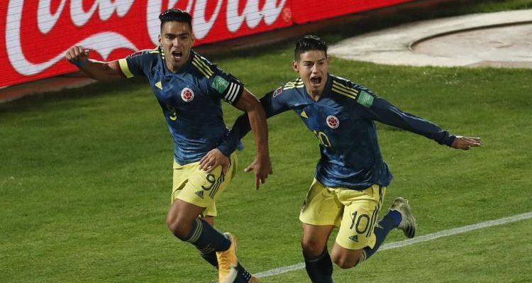 Tigre' salvador! Un gol de Falcao en tiempo de descuento le dio el empate a Colombia frente a Chile