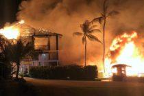 Lujoso resort en Cayos de la Florida se incendió