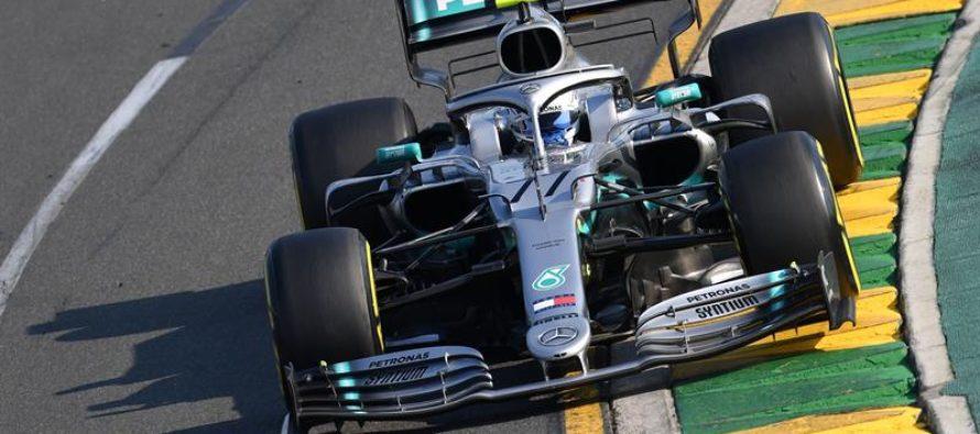Valteri Bottas comenzó con buen pie la temporada 2019 de la F1