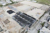 Inter Miami C.F. mostró fotografías del status de las obras de su estadio para el debut en 2020
