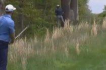 Golfista fue «capturado» orinando en pleno parque durante el PGA Championship (Video)
