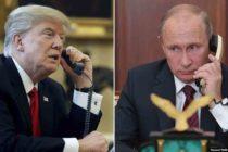 Confirman conversaciones telefónicas entre Trump y Putin