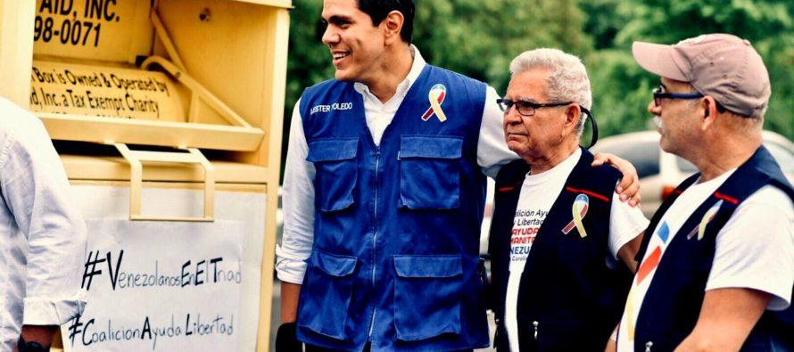 Diáspora venezolana realizó jornada de recolección de ayuda humanitaria en Greensboro, EEUU