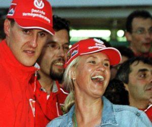 Esposa de Schumacher denunció el robo de fotos del piloto alemán postrado en la cama