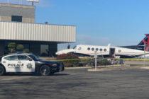 ¡Insólito! Adolescente hurtó y estrelló avioneta en un aeropuerto internacional