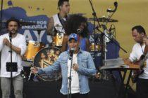 Alejandro Sanz: Con el pueblo venezolano