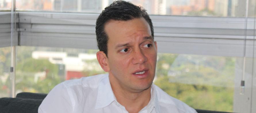 Alfredo Ramos presentó a inversionista de Miami su proyecto para Medellín