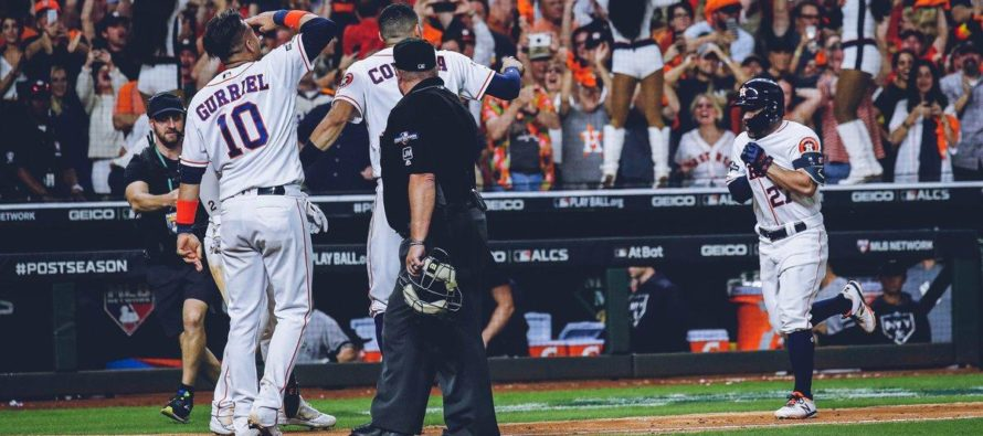 Jonrón de José Altuve le dio el pase a los Astros a la Serie Mundial (Video)