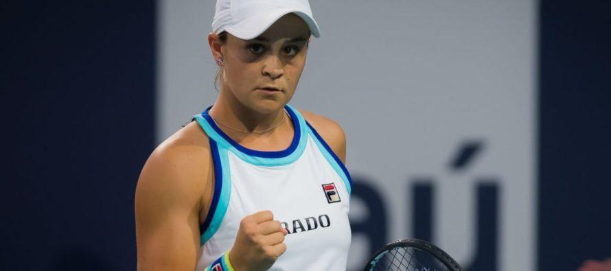 Ashleigh Barty dio la campanada al coronarse en Miami Open