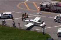 Avioneta aterrizó de emergencia en una carretera del sur de Florida