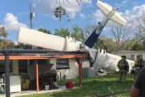 Murió instructor de vuelo que se estrelló contra una casa en Florida