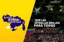Artistas y deportistas apoyan ingreso de ayuda humanitaria a Venezuela
