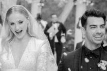 Aciertos y errores del look de la pareja Jonas durante su boda