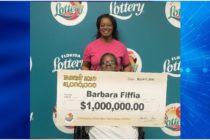 Mujer gastó $30 en raspadito y ganó $1 millón con la Lotería de Florida