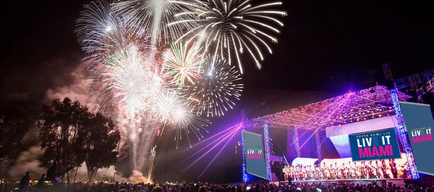 Lista programación del Fan Fest 'Super Bowl LIVE' en Bayfront Park