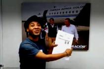 ¡Esperanza! Joven venezolano que salió de su país por la grave crisis está a punto de cumplir sus sueños