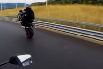 ¡Increíble! Bloguera rusa graba su propio accidente a exceso de velocidad (Video)