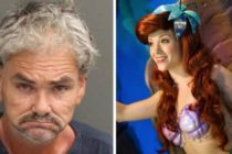 ¡Sádico! Arrestaron a hombre por tocar a la 'Sirenita' en Walt Disney World