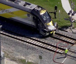 Una persona fallece tras un choque del tren Brightline contra un vehículo en Pompano Beach